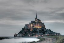 Mont Saint Michel at sunset von Pier Giorgio  Mariani