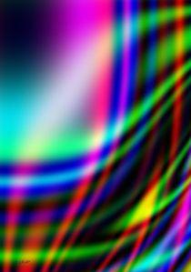 Eine schwungvolle Farbgrafik by Eckhard Röder