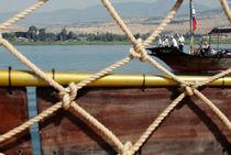 Pilgrims in the Galilea Lake by ANNA CAMORALI