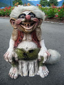 Norwegischer  Troll by Eugen Bill