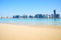 Abu Dhabi panorama, UAE by Tanja Krstevska