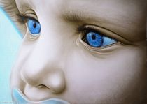 Baby blue by Ridzard  König