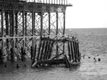 West pier, Brighton by Sara Messenger