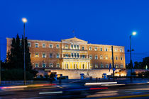 Athens, Greek Parliament Building von Graham Prentice