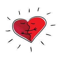 Huggingheart