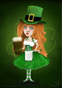 St Patrick Girl by Sophie ferrier