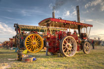 Showmans engines at the fair von Rob Hawkins