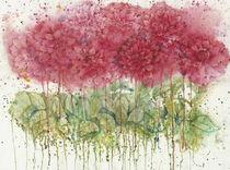 Dahlia Stems by Suzanne Hetzel