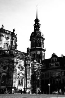 Dresden black and white - black and white photograph from the state capital of Saxony, Germany. Photographer Falko Follert Art-FF77 2009 by Falko Follert