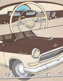 GAZ 21 Volga (?????) by Anisenkov Alexander
