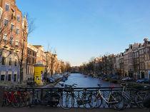 Amsterdam in spring von Alberto Vaccari