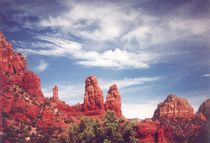 Red Rocks of Sedona by Pat Goltz