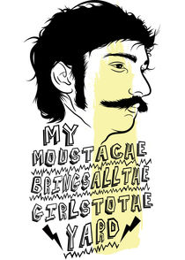 Mustache by Neil Hyde