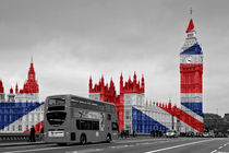 Big Ben Union Jack by Alice Gosling