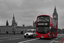 Red London Bus by Alice Gosling