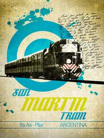 San Martin Train von Mauricio Gomez