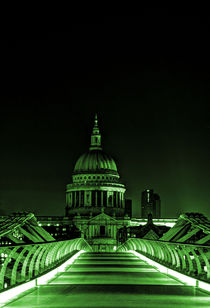 St Paul's cathedral in the green by Sara Messenger