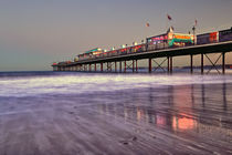Paignton Pier Sunset von Chris Frost