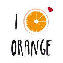 I LOVE Orange by neronera