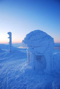 Windswept Summit in Spitsbergen von Benjamin So