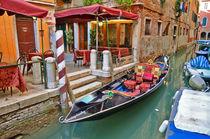 Gondola in Venice by Tanja Krstevska
