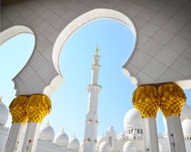 Sheikh Zayed Mosque in Abu Dhabi, UAE by Tanja Krstevska