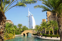 Burj Al Arab and Madinat Jumeirah, Dubai by Tanja Krstevska