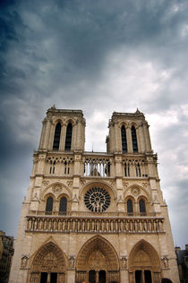 Notre dame de Paris, France by Tanja Krstevska