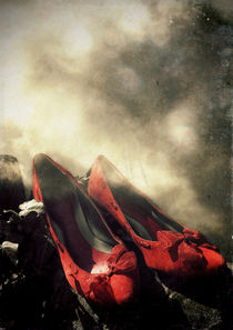 red shoes von Sybille Sterk