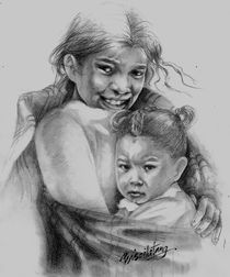 """PROTECT OUR CHILDREN Series - Nepal by Pris Tang"