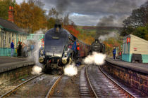Steam Train at Grosmont von tkphotography