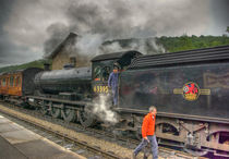 Steam at Levisham Crossing von tkphotography