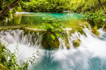 Plitvice Waterfall by Christopher Waddell
