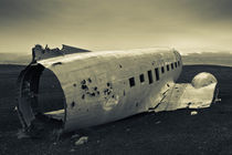 Iceland Plane Wreck by Christopher Waddell