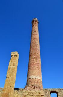 Sizilien, alter Steinturm in der Thunfischfabrik by sandarine