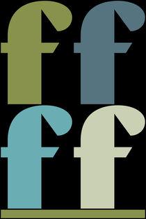 """F-Artwork """"Pollerazur"""" by Yvonne Schüttler"""