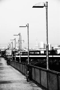 Am S Bahnhof Berlin by Falko Follert