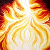 THE FIRE FALLS / DAS FEUER FÄLLT by Sandra Yegiazaryan