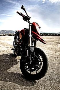 ducati motor bike by Nadia Kouloura