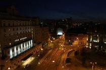Leeds City Night von James Biggadike