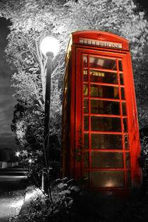Phone Box Splash von James Biggadike