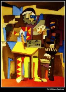 Three musicians von ROHIT MALSHE