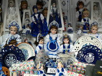 Hungarian Dolls - Great Market Hall Budapest by Silke Berz