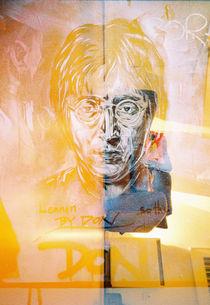 Abstract J Lennon von Giorgio Giussani