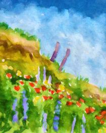 Blühende Küste von Lutz Baar
