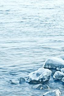 Eisblaue See von Katharina Weigl