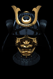 Japanese Armour Mask by nyord