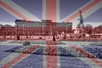 Buckingham Palace Union Jack Flag von David J French