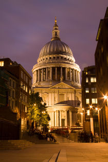 St Pauls Cathedral at London Attractions  by David J French