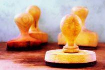 Holzstempel von tinadefortunata